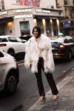 Andrew Gn PFW Streetstyle
